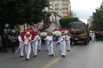 Hakkari'deki Alçak Saldırıda Şehit Düşen Mersinli Hemşehrimiz Er Mustafa Korkmaz'ı Son Yolculuğuna Uğurlamamız.-08