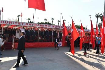 Mersin Cumhuriyet Meydanı 29 Ekim Cumhuriyet Bayramı'nın 96. Yılı Kutlama Etkinliklerine Katılımımız.-04