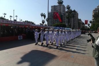 Mersin Cumhuriyet Meydanı 29 Ekim Cumhuriyet Bayramı'nın 96. Yılı Kutlama Etkinliklerine Katılımımız.-05