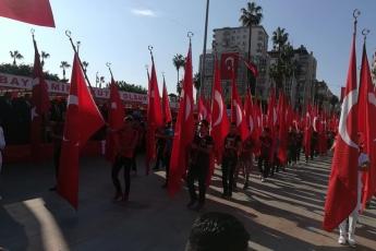 Mersin Cumhuriyet Meydanı 29 Ekim Cumhuriyet Bayramı'nın 96. Yılı Kutlama Etkinliklerine Katılımımız.-06