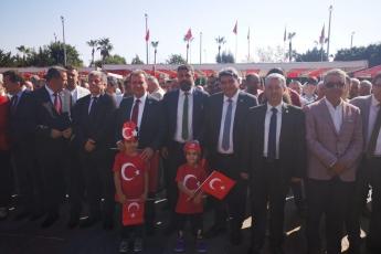Mersin Cumhuriyet Meydanında CHP Mersin İl Örgütü İle 29 Ekim Cumhuriyet Bayramı'nın 96. Yılı Kutlama Etkinliklerine Katılımımız.-03