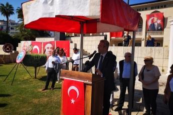 Mersin Cumhuriyet Meydanında CHP Mersin İl Örgütü İle 29 Ekim Cumhuriyet Bayramı'nın 96. Yılı Kutlama Etkinliklerine Katılımımız.-04