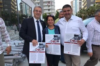 İstiklal Marşımızın Basılı Olduğu Broşürlerin CHP Mezitli İlçe Örgütümüz İle Birlikte Esnaf ve Halkımıza Dağıtımına Katılımımız.-04