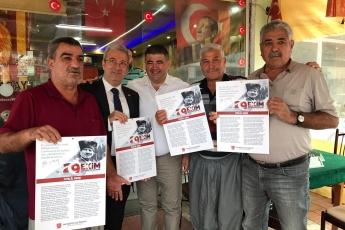 İstiklal Marşımızın Basılı Olduğu Broşürlerin CHP Mezitli İlçe Örgütümüz İle Birlikte Esnaf ve Halkımıza Dağıtımına Katılımımız.-05
