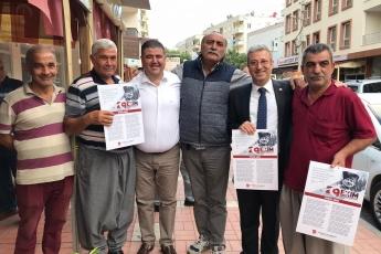 İstiklal Marşımızın Basılı Olduğu Broşürlerin CHP Mezitli İlçe Örgütümüz İle Birlikte Esnaf ve Halkımıza Dağıtımına Katılımımız.-06