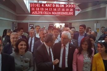 CHP Eski Milletvekilimiz ve PM Üyesi Mehmet Tüm Aleyhine Açılan Cumhurbaşkanına Hakaret Davası İçin Ankara Adliyesindeki Buluşmamız.-01