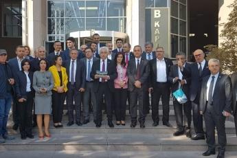 CHP Eski Milletvekilimiz ve PM Üyesi Mehmet Tüm Aleyhine Açılan Cumhurbaşkanına Hakaret Davası İçin Ankara Adliyesindeki Buluşmamız.-02