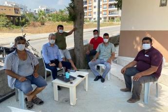 Mezitli İlçemiz Cumhuriyet, Viranşehir, Davultepe, Tece  Mahalle Muhtarlarımızla biraraya geldik. Mahallelerimizin sorunlarını dinledik. Sorunların çözümünün takipçisi olacağız. - 5
