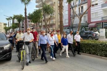 """Mersin Tarsus Belediyemizin temiz ve daha sağlıklı bir çevre için """"arabasız gün"""" etkinliğine katıldık. - 5"""