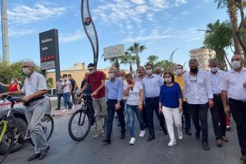 """Mersin Tarsus Belediyemizin temiz ve daha sağlıklı bir çevre için """"arabasız gün"""" etkinliğine katıldık. - 3"""