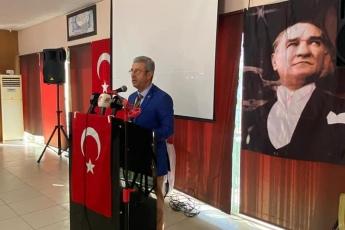 """Mersin'de gazetecilerle  gündemi konuşuyor, yeni çıkan son 1 yıllık çalışma raporum olan """"Vekilim Bizim İçin Ne Yaptın 2"""" kitabımı anlatıyorum... - 2"""