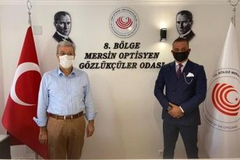 Mersin Optisyen Gözlükçüler Odasını ziyaret ettik - 3