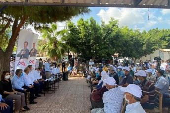 Mersin Büyükşehir Belediye Başkanımız Vahap Seçer ile birlikte, Mersin İl Başkanlığımız ve Yenişehir İlçe Başkanlığımız ile Çavak Mahallemizi ziyaret ettik. - 4
