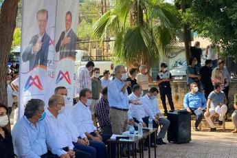 Mersin Büyükşehir Belediye Başkanımız Vahap Seçer ile birlikte, Mersin İl Başkanlığımız ve Yenişehir İlçe Başkanlığımız ile Çavak Mahallemizi ziyaret ettik. - 1