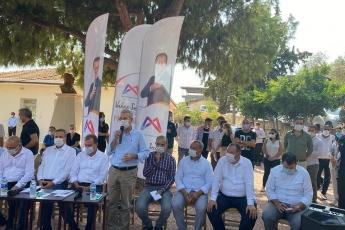 Mersin Büyükşehir Belediye Başkanımız Vahap Seçer ile birlikte, Mersin İl Başkanlığımız ve Yenişehir İlçe Başkanlığımız ile Çavak Mahallemizi ziyaret ettik. - 2