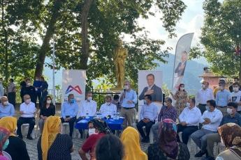 Mersin Büyükşehir Belediye Başkanımız Vahap Seçer ile birlikte, Mersin İl Başkanlığımız ve Yenişehir İlçe Başkanlığımızla Değirmençay Mahallemizi Ziyaret Ettik.