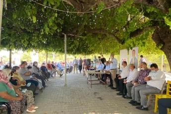 Mersin Büyükşehir Belediye Başkanımız Vahap Seçer ile birlikte, Mersin İl Başkanlığımız ve Yenişehir İlçe Başkanlığımızla Emirler Mahallemizi Ziyaret Ettik. - 2