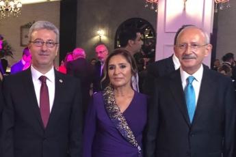 CHP Genel Başkanımız Kemal KILIÇDAROĞLU'nun oğlu Kerem'in Düğün Törenine Katılımımız.-01