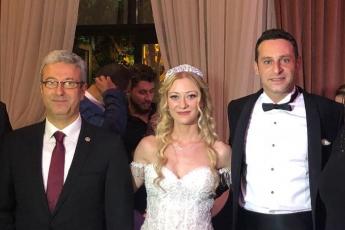 CHP Genel Başkanımız Kemal KILIÇDAROĞLU'nun oğlu Kerem'in Düğün Törenine Katılımımız.-02