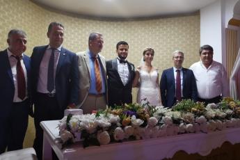 Mehmet İNCE Beyin Kızı Esra'nın Düğününe Katılımımız.