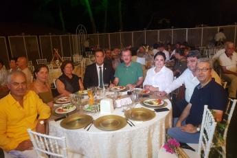 CHP İl Delegemiz Doğan BORAN ve Mezitli Belediye Meclis Üyesi Fatma BORAN'ın Kızları Damla'nın Düğün Törenine Katılımımız.