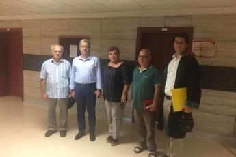 Mersin Akkuyu Yer Lisansı İptal Davasında, NKP ve Mersin Tabip Odası ile Birlikte Mersin 2. İdare Mahkemesindeydik.