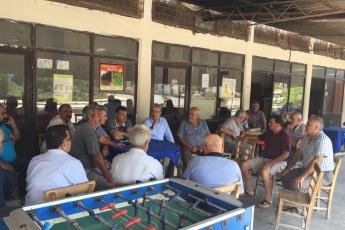 Mersin Kazanlı ve Adanalıoğlu mahallelerimizin kahvelerinde halkımız ile buluştuk.-01