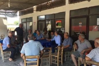 Mersin Kazanlı ve Adanalıoğlu mahallelerimizin kahvelerinde halkımız ile buluştuk.-05