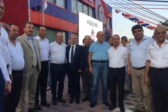 Mersin Koleji, Fen Lisesi ve Anadolu Lisesinin Açılış Törenine Katılımımız.