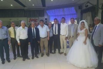 Müşteba CANBOLAT'ın oğlu Ali Mert CANBOLAT ve Derya'nın düğün törenine katılımımız.