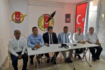 """Mersin Gazeteciler Cemiyetinde İl Başkanlığımızın  """"Şarbon"""" konusunda yaptığı basın açıklamasına katılımımız"""
