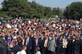 CHP'nin 95.Yıl Kuruluş Yıldönümü ve Anıtkabir Çelenk Koyma Törenine Katılımımız.02