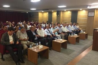 CHP Genel Başkan Yardımcısı Orhan SARIBAL ile Tarsus Ticaret ve Sanayi Odası Toplantısına Katılımımız.