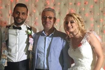 CHP Eski İl Yöneticisi Muzaffer ÇETİNKAYA'nın oğlu Savaş ve İlayda'nın Düğün Törenine Katılımımız.