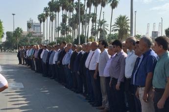 Mersin Cumhuriyet Anıtı ve Ulu Cami Meydanı 25. Geleneksel Ahilik Kültürü Haftası Kutlamasına Katılımımız.01