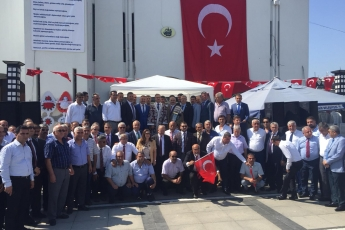 Mersin Cumhuriyet Anıtı ve Ulu Cami Meydanı 25. Geleneksel Ahilik Kültürü Haftası Kutlamasına Katılımımız.06