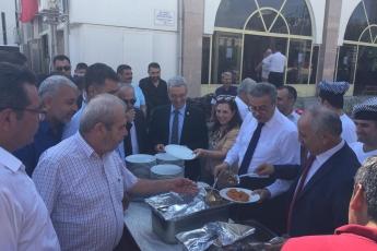 Mersin Cumhuriyet Anıtı ve Ulu Cami Meydanı 25. Geleneksel Ahilik Kültürü Haftası Kutlamasına Katılımımız.07