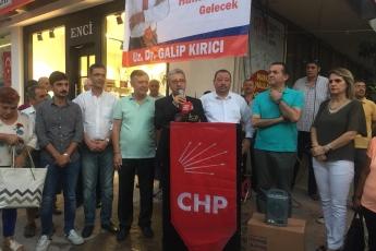 Mersin CHP Yenişehir İlçe Örgütü  Karma Eğitim Konulu Basın Açıklamasına Katılımımız.