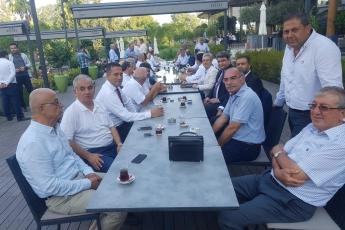 Adana Sheraton Oteli CHP Bölge Toplantısına Katılımımız.01