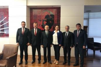 CHP Genel Merkezi  Genel Başkanımız Sayın Kemal KILIÇDAROĞLU'nu Ziyaretimiz.
