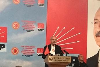 Bolu-Abant Büyük Otel CHP Milletvekili Çalışma Yılı Değerlendirme Kampına Katılımımız.01