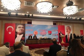 Bolu-Abant Büyük Otel CHP Milletvekili Çalışma Yılı Değerlendirme Kampına Katılımımız.02