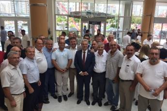 CHP Mersin İl Başkanlığı Danışma Kurulu Toplantısına Katılımımız.-02