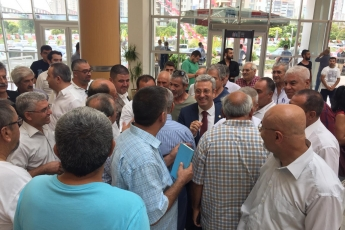 CHP Mersin İl Başkanlığı Danışma Kurulu Toplantısına Katılımımız.-03
