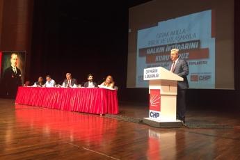 CHP Mersin İl Başkanlığı Danışma Kurulu Toplantısına Katılımımız.-06
