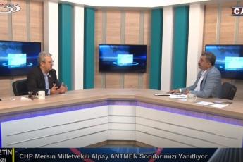 Kanal33 TV'de Fatih Alkar ile Siyasetin Nabzı Canlı Yayın Programına Katılımımız.-02