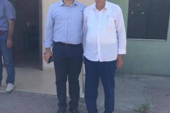 CHP Tarsus İlçe Başkanımız Ali İlk İle Birlikte Tarsus Barbaros Mahallesi Muhtarımız Salih Başkan'ı Ziyaret Ederek, Bir Yıllık Faaliyetlerimizi İçeren Kitabımızı Takdimimiz.-04