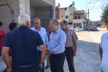 CHP Tarsus İlçe Başkanımız Ali İlk İle Birlikte Tarsus Barboros Mahallesi Çarşı Esnafı ve Kahvehanelerini Ziyaretimiz.-01