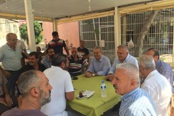 CHP Tarsus İlçe Başkanımız Ali İlk İle Birlikte Tarsus Barboros Mahallesi Çarşı Esnafı ve Kahvehanelerini Ziyaretimiz.-05