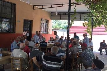 CHP Tarsus İlçe Başkanımız Ali İlk İle Birlikte Tarsus Barboros Mahallesi Çarşı Esnafı ve Kahvehanelerini Ziyaretimiz.-08